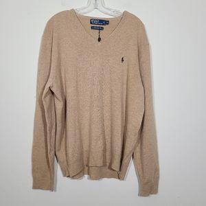 Polo Ralph Lauren 100% Lambs Wool Men Sweater XL